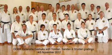 Year End RSA Honbu Dojo Black Belt Gashuku